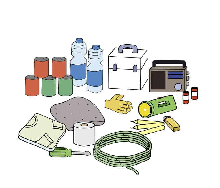 Emergency Earthquake Preparedness Kits