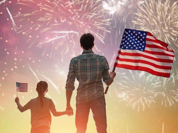 Celebrate the Patriotic Holiday of 4th of July 2019 with Family