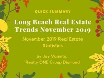 Long Beach Real Estate Trends November 2019