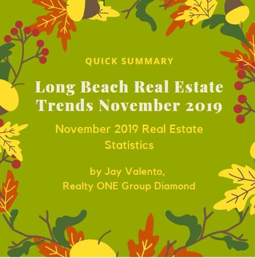 Long Beach Real Estate Trends November 2019