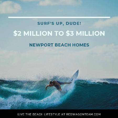 Newport Beach homes 2 million - 3 million