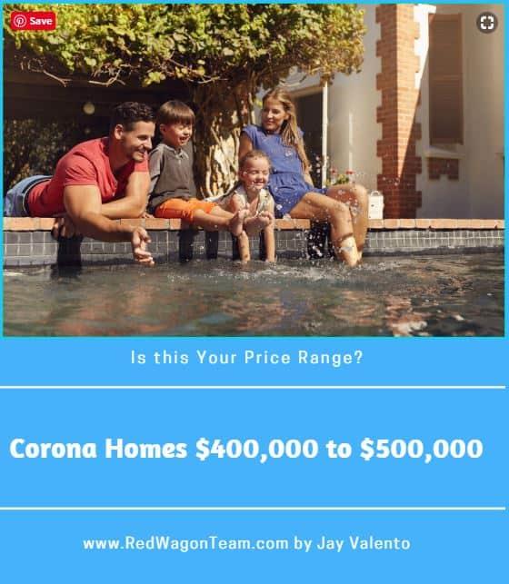 Corona Homes 400000 to 5000000
