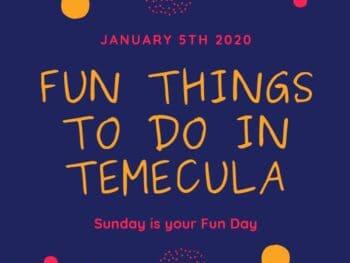 Temecula January 5th 2020