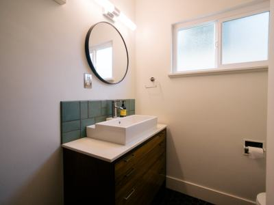 Upgraded New Sink at 601 Olive Ave Unit D Long Beach