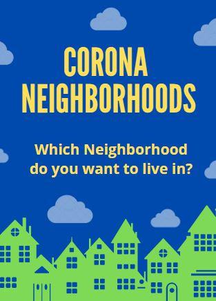Corona Neighborhoods in Riverside County