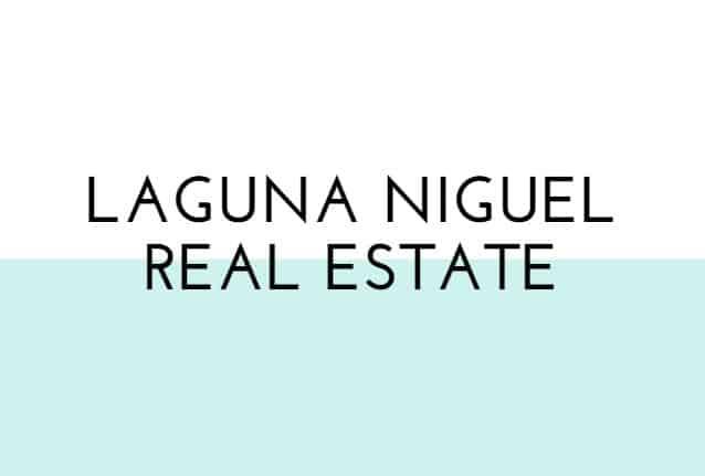 Laguna Niguel Real Estate