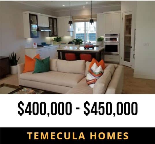 Temecula Homes 400000 to 450000