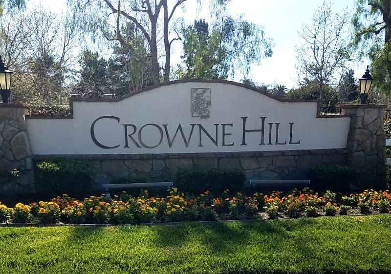 Crowne Hill Temecula CA 92692