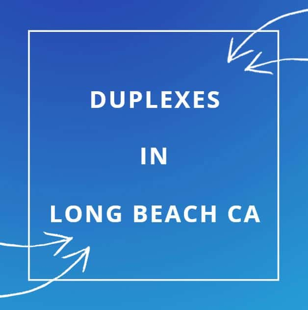 Duplexes for sale in Long Beach California