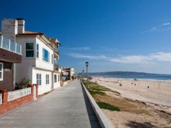 Southern California Beach front homes for sale