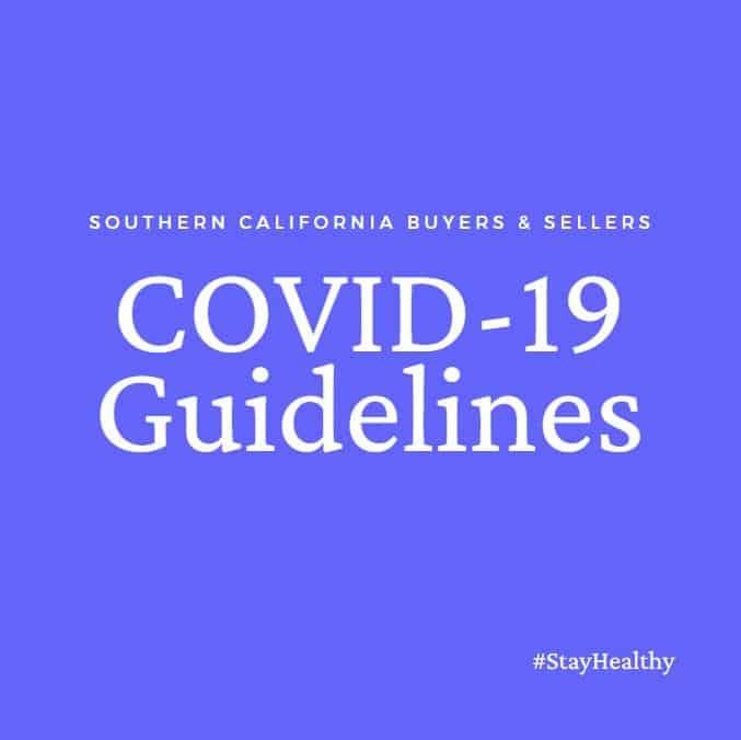 Coronavirus Real Estate Guidelines