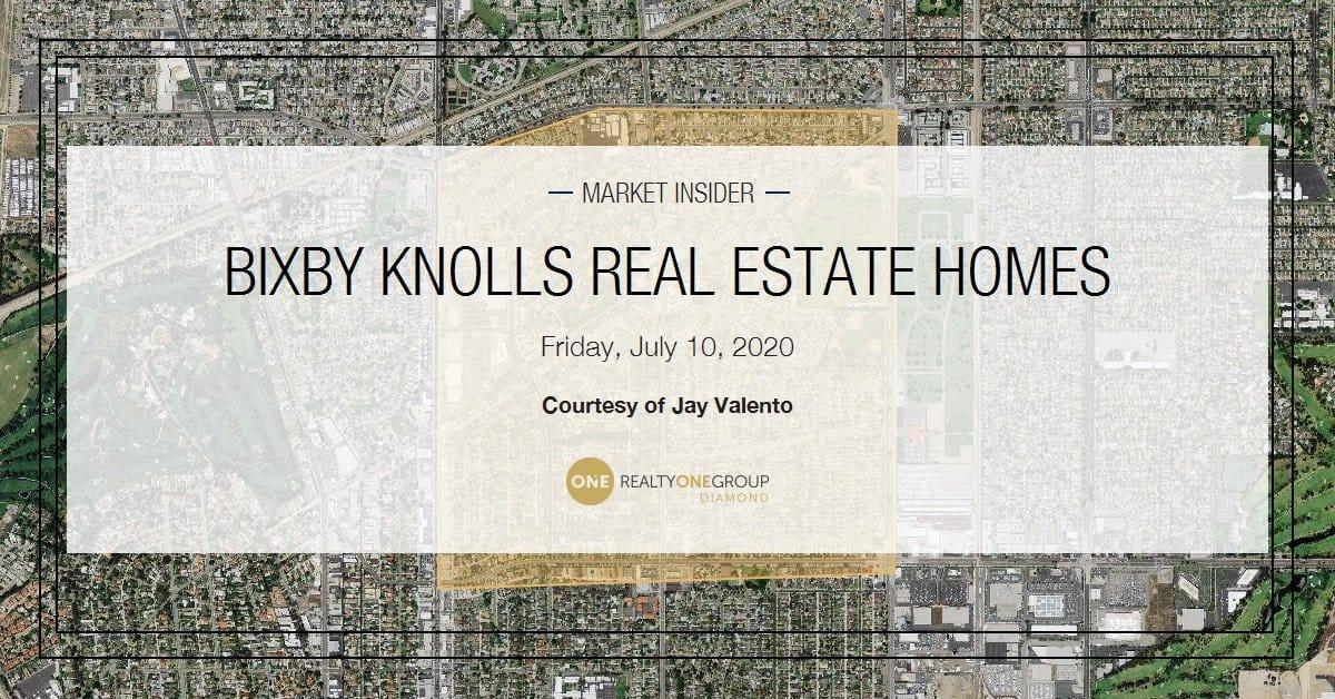 Bixby Knolls Long Beach Real Estate Report July 10th 2020