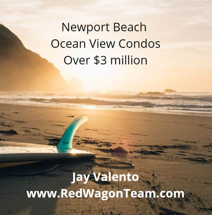Newport Beach Ocean View Condos Over $3 Million Dollars