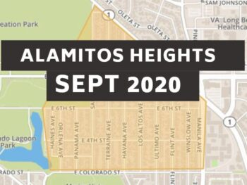 Alamitos Heights Long Beach Homes Sept 2020 Youtube