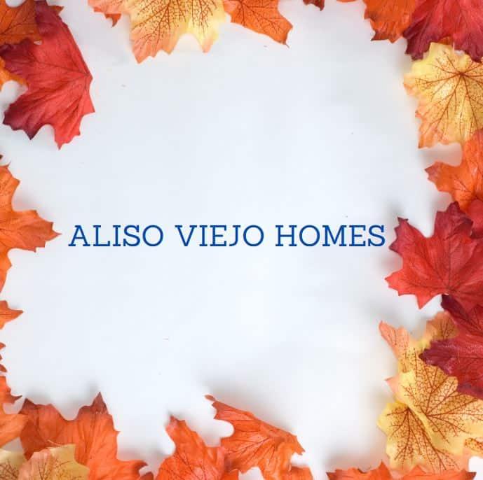 Aliso Viejo Homes for Sale