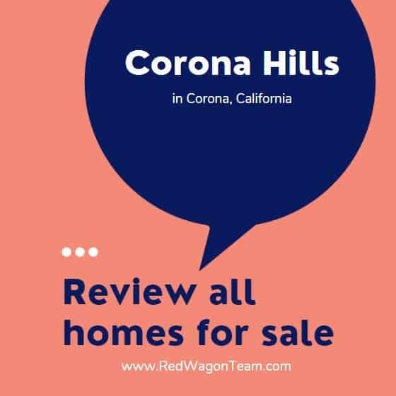 Corona Hills Homes for Sale