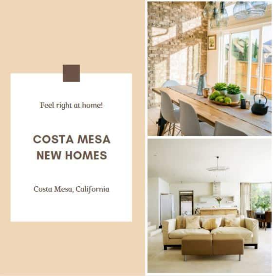 Costa Mesa New Homes