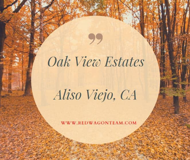 Oak View Estates Aliso Viejo Homes