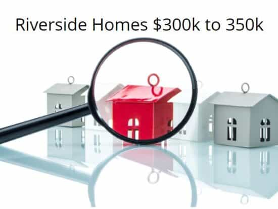 Homes for sale in Riverside 300000 to 350000