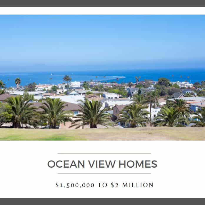 Ocean view homes 1500000 to 2 million
