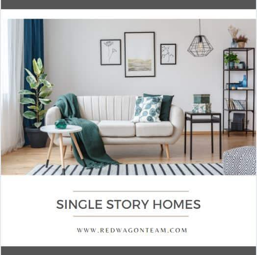 Single Story Homes in Corona