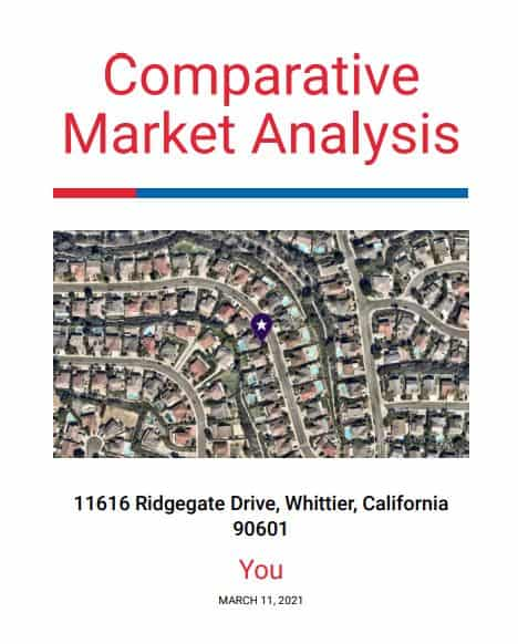 Whittier Home Value Report