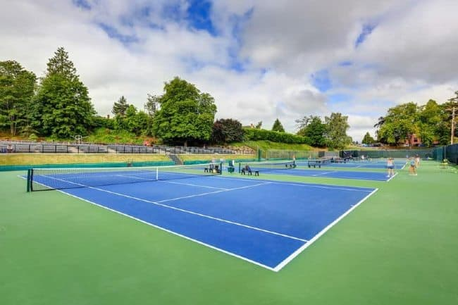 Tennis Courts in LA County