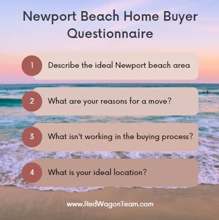 Newport Beach Home Buyer Questionnaire California