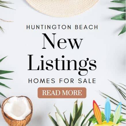 New Listings Huntington Beach